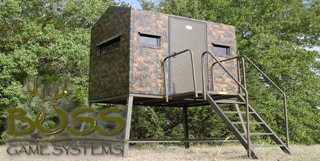 Boss Game Systems - Fiberglass Hunting Blinds, Deer Stands, Hunting Blinds, Bow Blinds